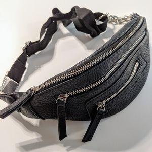 Wild Fable // Black & Silver Waist Bag